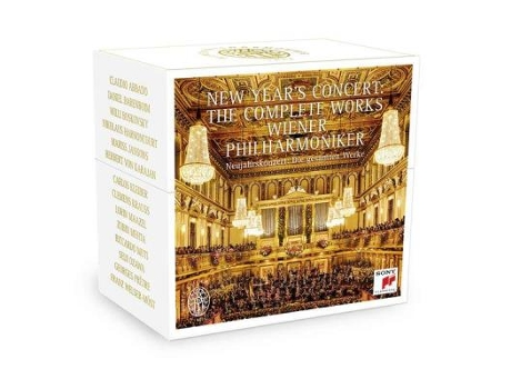 CD New Year's Concert - The Complete Works — Clássica