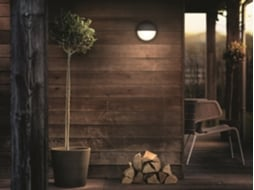 Candeeiro Outdoor Wall PHILIPS Capricorn Antracite — Alumínio
