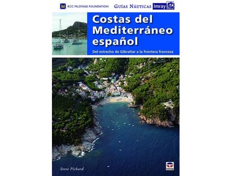 Marca do fabricante - Livro Costas Del Mediterraneo Español (Guia Nautica Imray) de Rcc Pilotage