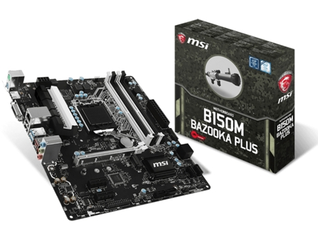 Motherboard MSI B150M Bazooka Plus — Socket LGA1151 | Intel B150