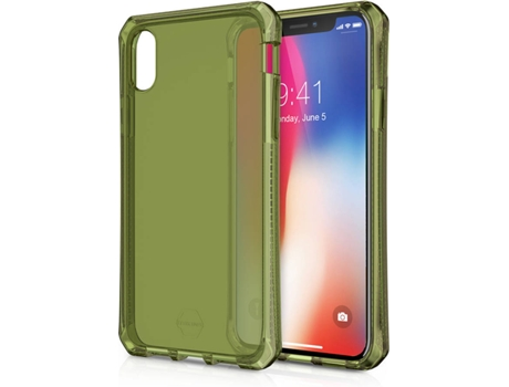 Capa ITSKINS Spectrum iPhone X Verde — Compatibilidade: iPhone X