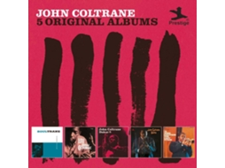 CD John Coltrane - 5 Original Albums — Jazz