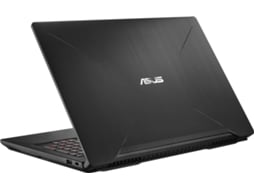 Portátil Gaming ASUS ROG Fx503Vm-77A06Pb1 (15.6'' - Intel Core i7-7700HQ - 16 GB RAM - 1 TB HDD + 256 GB SSD - NVIDIA GeForce GTX 1060) — Intel Core i7-7700HQ | 16 GB | 256GB SDD + 1TB HDD | NVIDIA GeForce GTX 1060