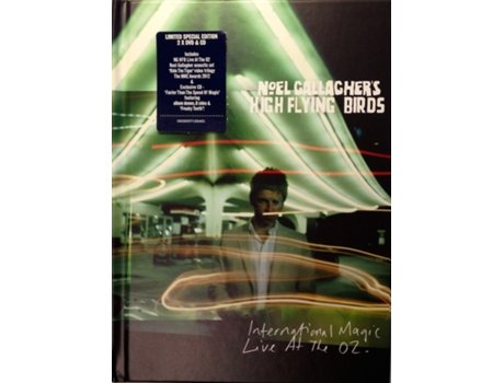 DVD Noel Gallagher's High Flying Birds - International Magic: Live At The O2