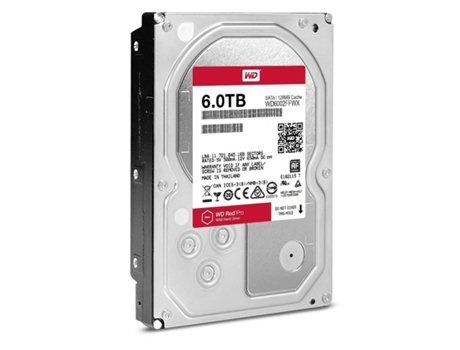 Disco Interno 3.5'' WESTERN DIGITAL 6TB Red Pro NAS WD6002FFWX — 3.5'' / 6 TB / SATA3 6 Gb/s