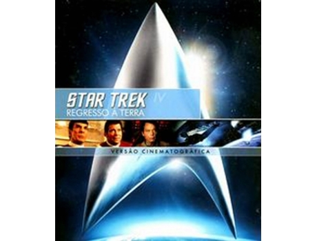 DVD Star Trek 4 - Regresso a Terra - Rem — De: Leonard Nimoy | Com: William Shatner, Leonard Nimoy