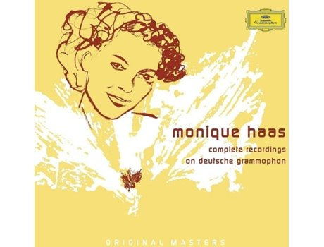 CD Monique Haas - Complete Recordings On — Clássica