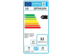 TV LED HD LG 28TK410V-PZ — HD| 28''| A+