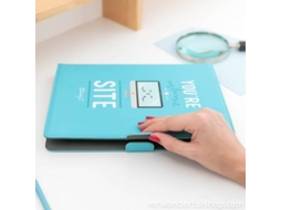 Capa Tablet MR.WONDERFUL You Are My Favorite Site em Azul — Universal | 10.1''