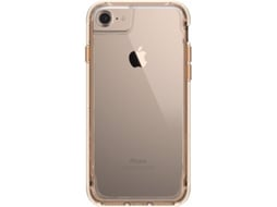 Capa GRIFFIN  Survivor Clear iPhone 7/6 Gold — Compatibilidade: iPhone 7/6