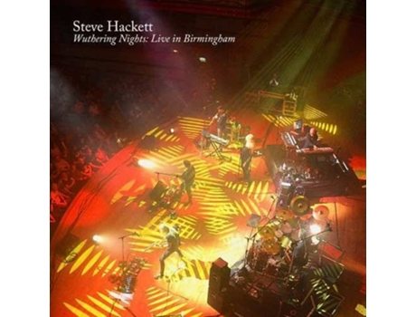 CD+DVD Steve Hackett - Wuthering Nights: Live In Birmingham — Pop-Rock
