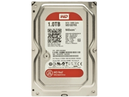 Disco Interno 3.5'' WESTERN DIGITAL 1TB Caviar RED 64Mb Sata 3 — 3.5'' | 1 TB | SATA 6 Gb/s