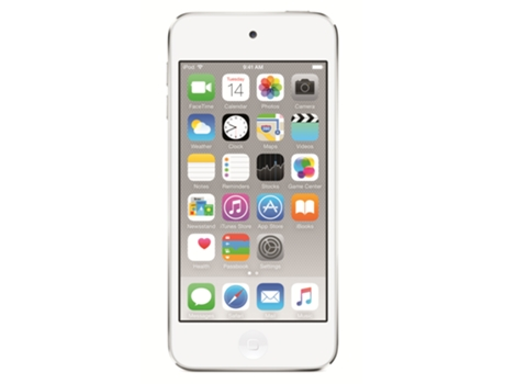 Leitor MP5 APPLE iPod touch 16gb silver — 16GB