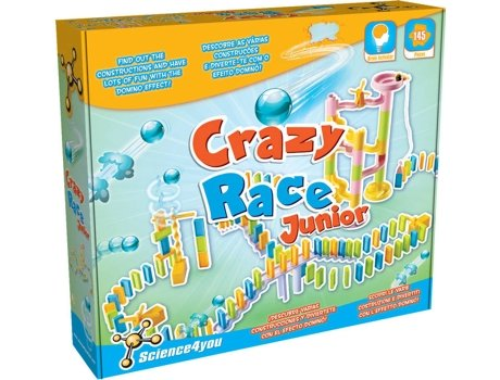 Kit SCIENCE4YOU Crazy Race Junior — Science4You