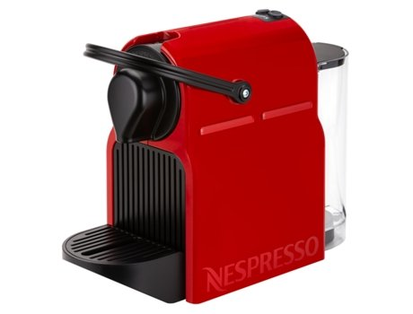 Máquina de Café NESPRESSO Krups Inissia XN1005P04 (19 bar - Vermelho) | [5210364 ]
