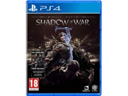 Jogo PS4 Middle-Earth: Shadow Of War — Ação/Aventura / Idade mínima recomendada: 18