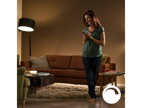 Kit 2 Lâmpadas Inteligentes PHILIPS HUE  (E27 - Branca Suave) — Smart Lighting | E27