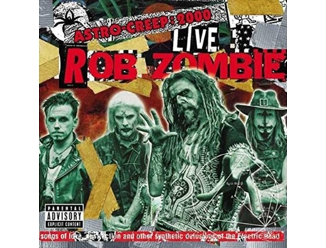 Vinil LP Rob Zombie - Astro-Creep: 2000 Live Songs Of Love, Destruction And Other Synthetic Delusions Of The Electric Head — Pop-Rock