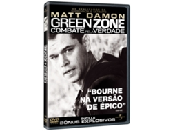 DVD Green Zone - Combate pela Verdade — De: Paul Greengrass | Com: Matt Damon,Yigal Naor,Said Faraj,Nicoye Banks,Jerry Della Salla