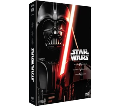 Pack DVD Star Wars - Original (4+5+6) — De: George Lucas / Com: Mark Hamill, Harrison Ford, Carrie Fisher