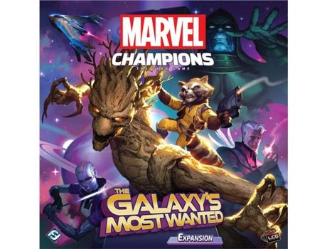FANTASY FLIGHT - Jogo de Cartas FANTASY FLIGHT Marvel Champions: The Galaxys Most Wanted (Idade Mínima: 14 Anos - Dificuldade: Intermédio)