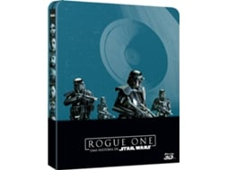 Blu-Ray 3D+2D Rogue 1: Uma História de Star Wars — De: Gareth Edwards | Com: Felicity Jones, Diego Luna, Alan Tudyk