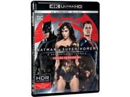 Blu-Ray 4K + Blu-Ray Batman V. Superman: O Despertar da Justiça — Do realizador Zack Snyder
