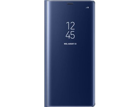 Capa SAMSUNG  Clear View Azul — Compatibilidade: Galaxy Note 8