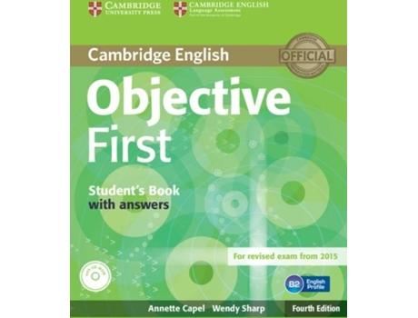CAMBRIDGE - Cambridge Manual Objective First! (Inglês)