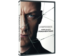 DVD Fragmentado — De: M. Night Shyamalan | Com: James McAvoy, Anya Taylor-Joy, Haley Lu Richardson