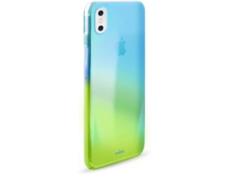 Capa iPhone X, XS PURO Hologram Azul — Compatibilidade: iPhone X, XS