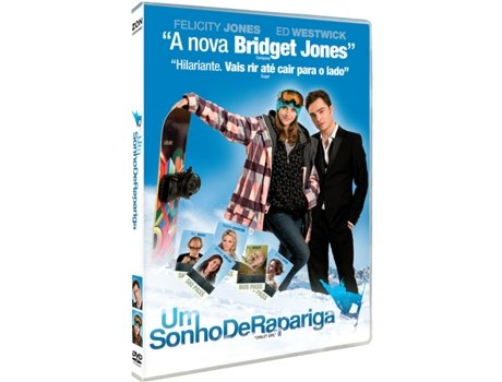 DVD Um Sonho de Rapariga — De: Phil Traill | Com: Bill Nighy,Brooke Shields,Ed Westwick,Felicity Jones,Sophia Bush
