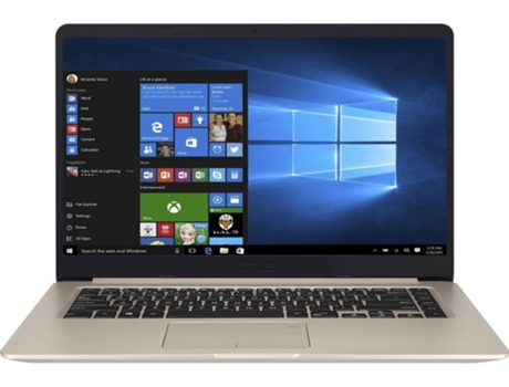 Portátil 15.6'' ASUS Vivobook S510UN-58AM5CB1 — Intel Core? i5-8250U | 8 GB | 1 TB HDD | NVIDIA GeForce MX 150