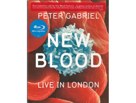 Blu-ray Peter Gabriel - New Blood - Live In London
