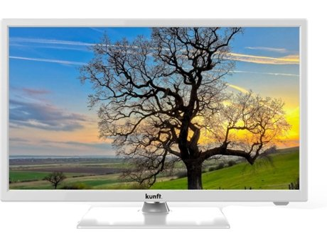 TV LED 24'' HD KUNFT K3992X24H Branco — HD| 24''| A+
