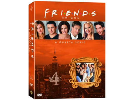 DVD Friends - Temporada 4 — Do realizador James Burrows