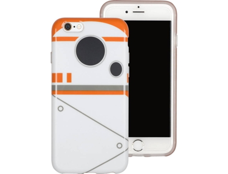 Capa TRIBE Star Wars iPhone 6/6S/7 BB-8 — Compatibilidade: iPhone 6/6S/7