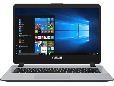 Portátil ASUS A507Ub-78Am1Sb1 (15.6'' - Intel Core i7-8550U - 8 GB RAM - 1 TB HDD - NVIDIA GeForce MX110)