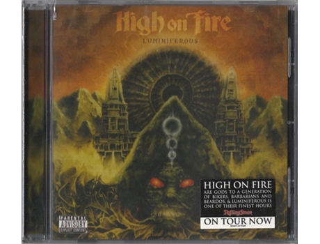 CD High On Fire - Luminiferous
