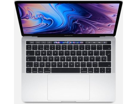 MacBook Pro 2019 APPLE Prateado - MUHQ2PO/A (13.3'' - Intel Core i5 - RAM: 8 GB - 128 GB SSD - Intel Iris Plus 645) — macOS Mojave | QHD