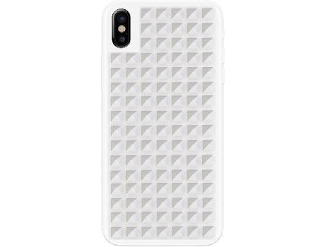 Capa BENJAMINS Studs Iph8/7/6S/6 White  — Compatibilidade: iPhone 6, 6s, 7 e 8