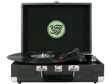 Gira Discos Vinyl Styl Groove Portable 3 Leaf Worten