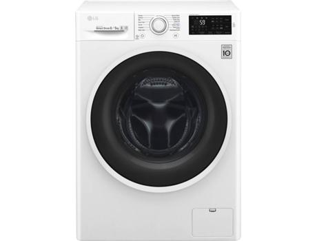a81e8d7ed Máquina de Lavar e Secar Roupa LG F4J6TM0W (5 8 kg - 1400 rpm - Branco)