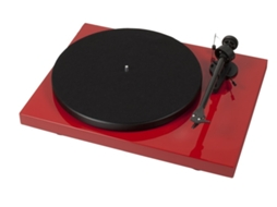 Gira-Discos PRO-JECT Debut Carbon OM10 R — Manual / Velocidade: 33/45 rpm