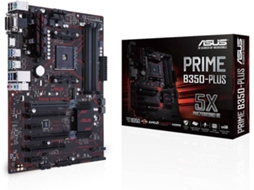 Motherboard ASUS Prime B350-Plus — AM4 | AMD B350