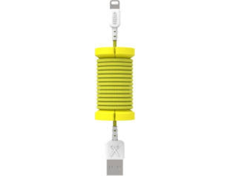 Cabo PHILO SPOOL Lightning 1M Yellow  — Lightning - USB