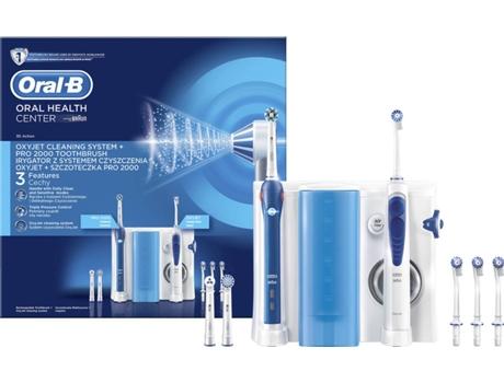 Centro Dental ORAL B Pro2000 + Oxyjet Branco (40.000 rpm) | [6879340 ]