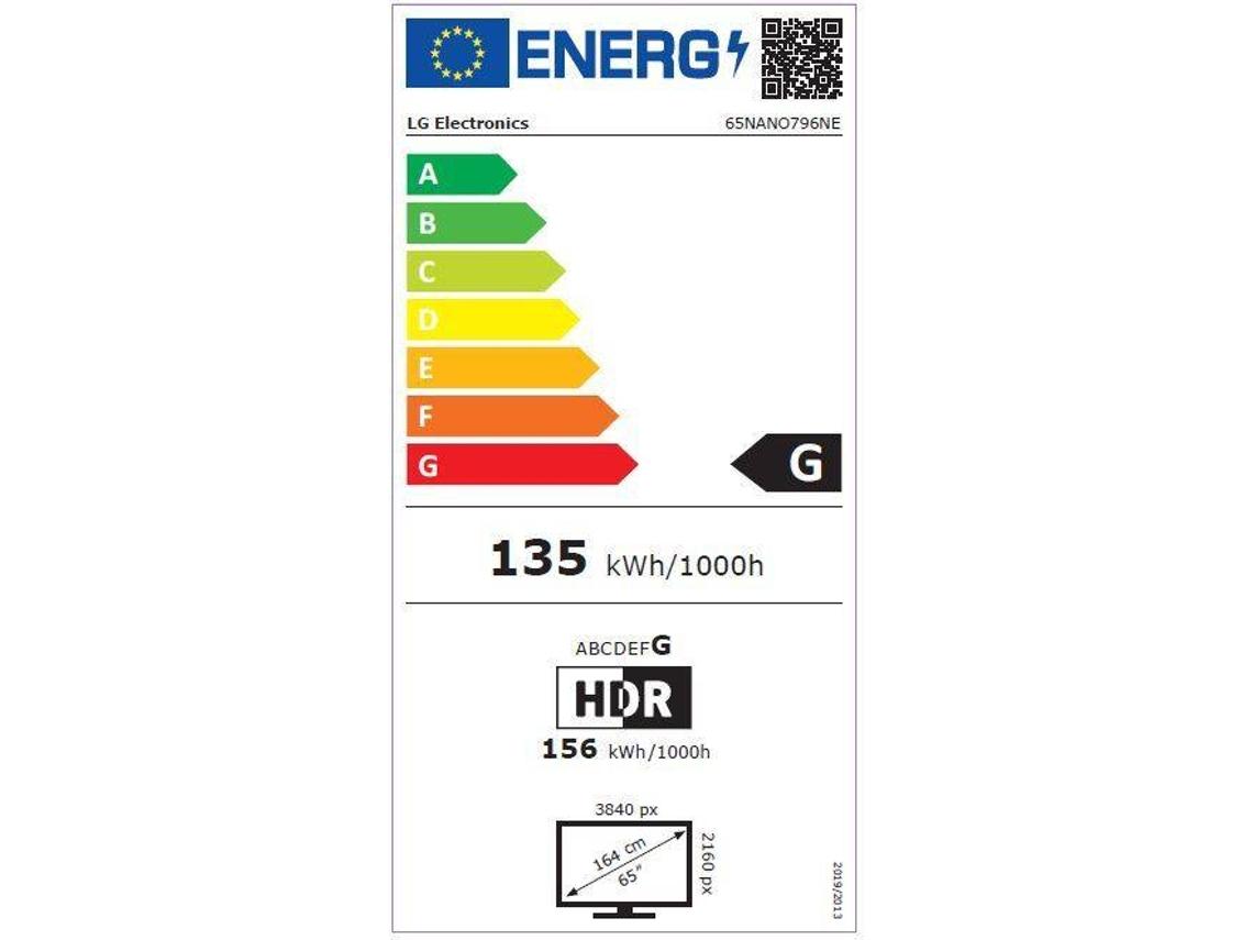 TV LG 65NANO796 (Nano Cell - 65'' - 165 cm - 4K Ultra HD - Smart TV) |  Worten.pt