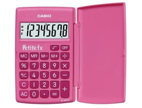 Calculadora Básica CASIO LC 401LV Rosa | [4303746 ]