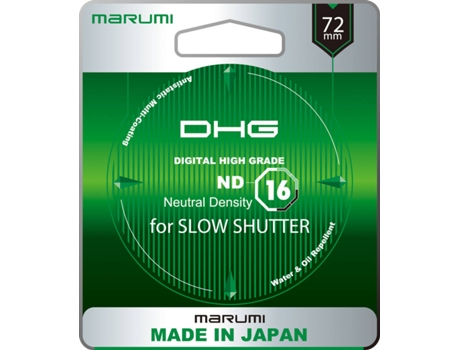 Filtro MARUMI DHG ND16 — 72MM